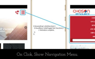 Add a Fancy Dropdown Menu to your Mobile Site in 3 Steps