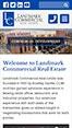 Landmark Commercial Real Estate Mobile View